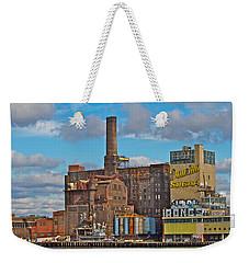 Domino Sugar Water View Weekender Tote Bag