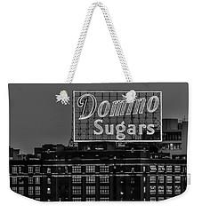 Domino Sugars Sign Weekender Tote Bag