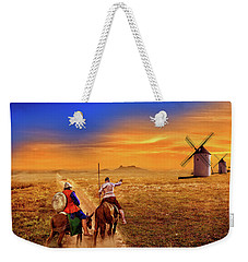 Don Quixote And The Windmills Weekender Tote Bag