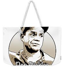 Don Rickles Weekender Tote Bag by Greg Joens