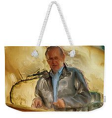 Donald Rumsfeld Weekender Tote Bag by Brian Reaves