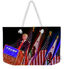 Donald Trump Make America Great Rally Weekender Tote Bag