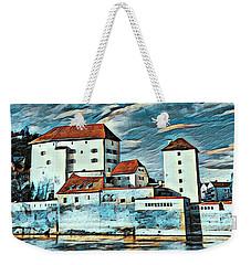 Donau, Passau, Germany Weekender Tote Bag