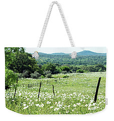 Weekender Tote Bag featuring the photograph Done In White by Joe Jake Pratt