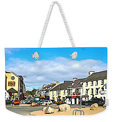 Donegal Town Weekender Tote Bag by Charlie and Norma Brock