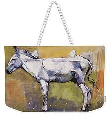 Donkey Stallion, Ronda Weekender Tote Bag by Mark Adlington