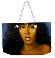Donna Summers Weekender Tote Bag by Loxi Sibley