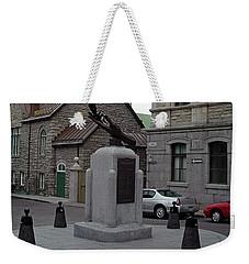 Weekender Tote Bag featuring the photograph Donnacona And Du Parloir by John Schneider