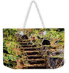 Don't Be Afraid Weekender Tote Bag by Carol Crisafi