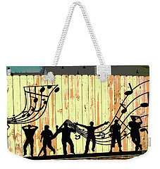 Don't Fence Me In Weekender Tote Bag by Charles Shoup