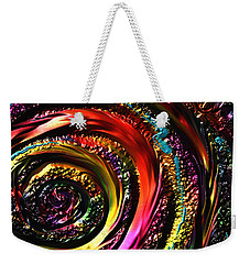 Weekender Tote Bag featuring the drawing Don't Get Foiled Again by Kevin Caudill
