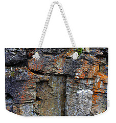 Weekender Tote Bag featuring the photograph Don't Jump by Shane Bechler