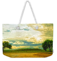 Don't Know Why There's No Sun Up In The Sky Weekender Tote Bag