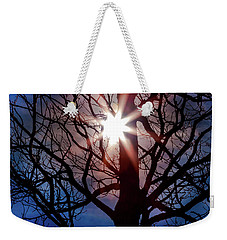Weekender Tote Bag featuring the photograph Don't Lose Sight Of It All by Karen Wiles