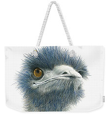 Dont Mess With Emu Weekender Tote Bag by Phyllis Howard