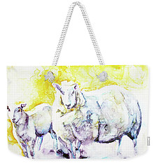 Don't Mess With My Lamb Weekender Tote Bag