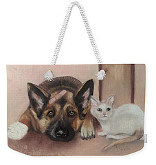 Don't Mess With The Cat  Weekender Tote Bag