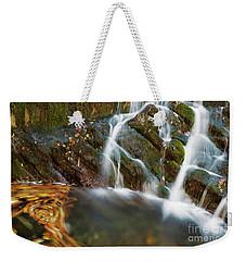 Don't Stop It Weekender Tote Bag by Yuri Santin