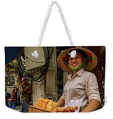 Donut Seller Weekender Tote Bag