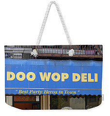 Doo Wop Deli Weekender Tote Bag by Cole Thompson