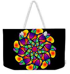 Doodle Mandala Weekender Tote Bag