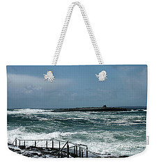 Doolin Waves Weekender Tote Bag