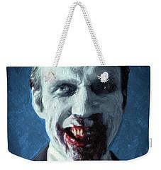 Doom Head Weekender Tote Bag by Taylan Apukovska