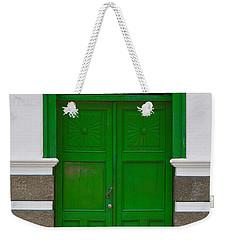 Door # 1  Weekender Tote Bag