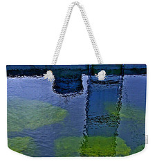 Door County Reflections Weekender Tote Bag by Perry Andropolis