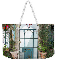 Door Entrance To The Art Weekender Tote Bag by Yoel Koskas