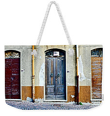 Door Fancy Weekender Tote Bag
