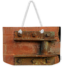 Door Hinge Weekender Tote Bag