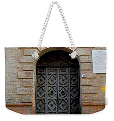 Door In Ferrara, Italy Weekender Tote Bag