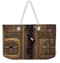 Door Into Pacific Coast Stock Exchange Weekender Tote Bag