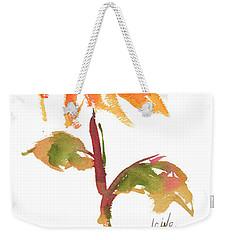 Door Keeper Sunflower Watercolor Painting By Kmcelwaine Weekender Tote Bag