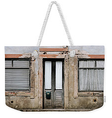 Weekender Tote Bag featuring the photograph Door No 128 by Marco Oliveira
