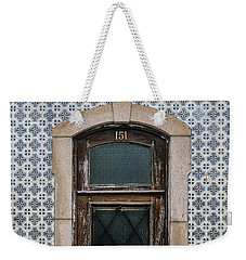 Weekender Tote Bag featuring the photograph Door No 151 by Marco Oliveira