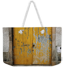 Weekender Tote Bag featuring the photograph Door No 152 by Marco Oliveira