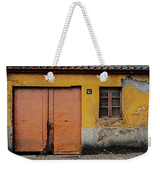 Weekender Tote Bag featuring the photograph Door No 162 by Marco Oliveira
