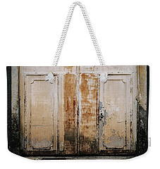 Weekender Tote Bag featuring the photograph Door No 163 by Marco Oliveira