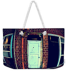 Weekender Tote Bag featuring the photograph Door To Nowhere by Yulia Kazansky