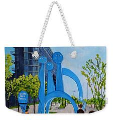 Toronto Canary District - Doors Open Toronto Weekender Tote Bag