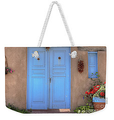 Doors, Peppers And Flowers. Weekender Tote Bag
