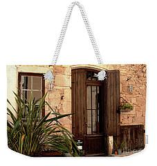 Doorway At Number 12 Weekender Tote Bag by Victoria Harrington