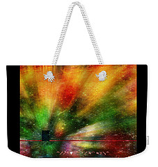 Weekender Tote Bag featuring the photograph Doorway To My Mind by Diane Alexander