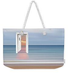 Doorway To The Future Weekender Tote Bag by Gill Billington