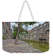 Dordrecht Behind The Church Weekender Tote Bag by Frans Blok