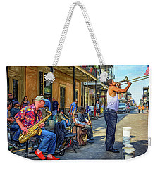 Doreen's Jazz New Orleans - Paint Weekender Tote Bag