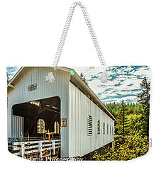 Dorena Covered Bridge Weekender Tote Bag