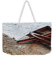 Dos Barcos Weekender Tote Bag by Kathy McClure